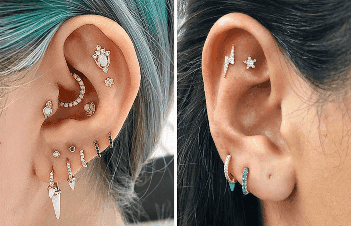 two ears pierced - Recherche Google
