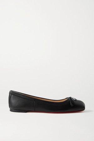 Mamadrague Leather Ballet Flats - Black