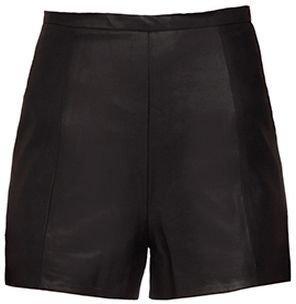 Roma Leather Shorts