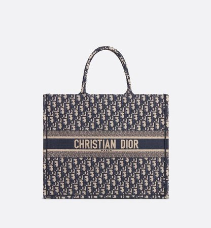 Blue Dior Oblique Canvas Belt Pouch - products | DIOR