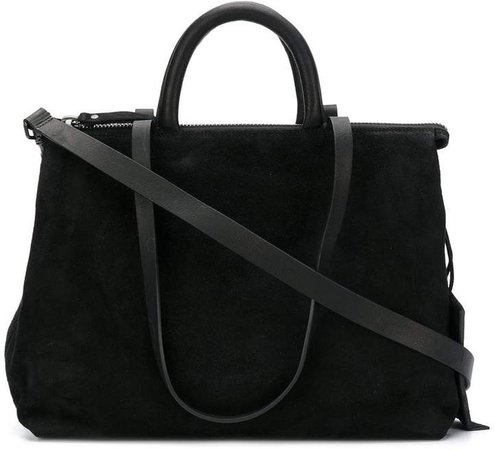 top zipped tote bag
