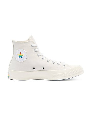 Converse Chuck 70 Hi Pride sneakers in egret/multi | ASOS