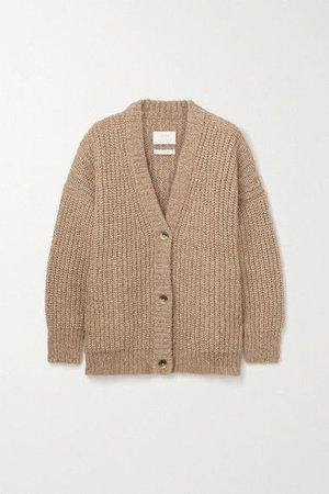 Lauren Manoogian | Ribbed alpaca and cotton-blend cardigan