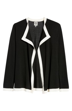 Anne Klein Colorblock Open Cardigan | Nordstrom