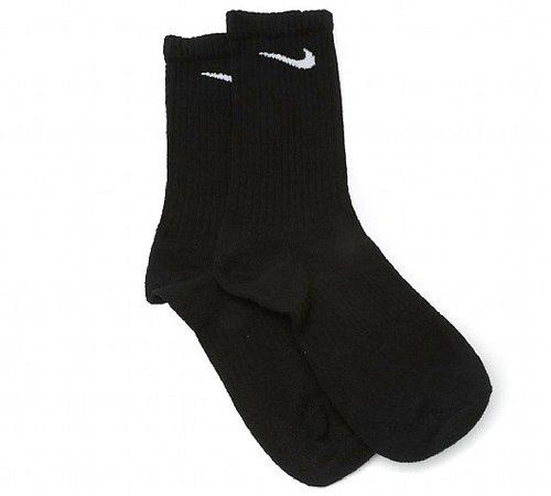 Nike Lightweight 3 Pack Sock | Black | Footasylum