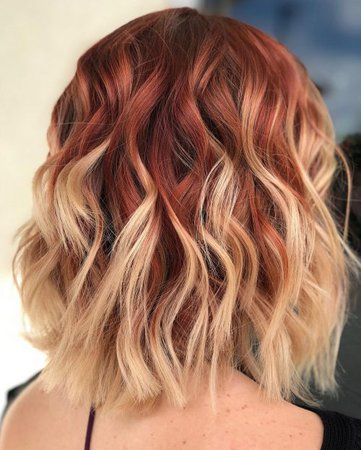 bronze and yellow ombre hair - Google Search