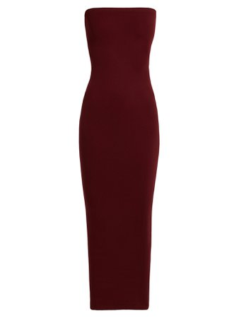 Wolford- Fatal strapless dress