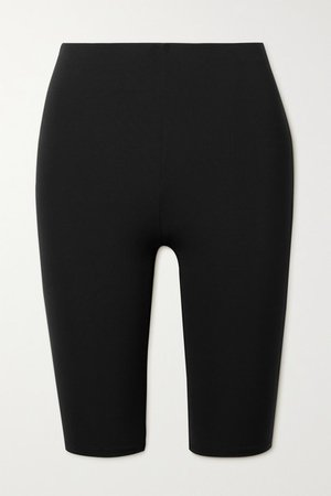 Mosah Stretch Shorts - Black