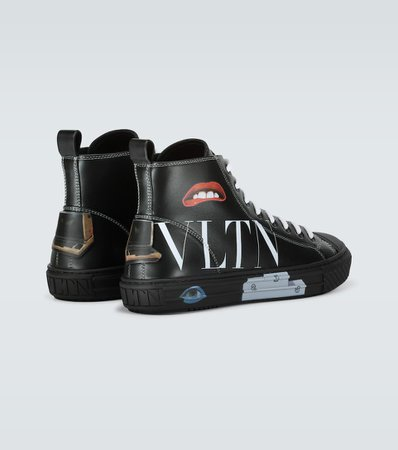 Valentino - Valentino Garavani Villalba VLTN sneakers | Mytheresa