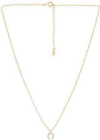 Hazel Gold Plating Necklace