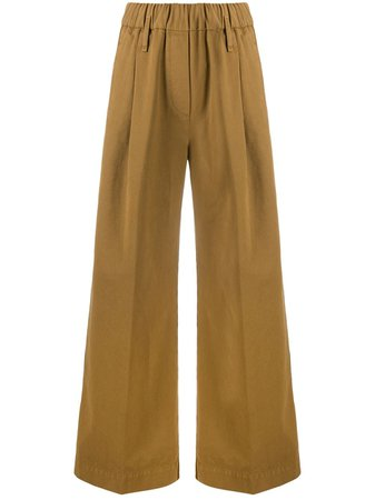Forte Forte high waisted flared trousers