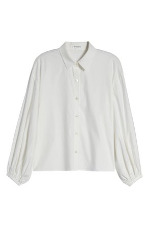 Reformation Drye Button-Up Blouse | Nordstrom