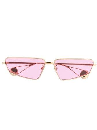 Gucci Eyewear Rectangle Frame Sunglasses - Farfetch