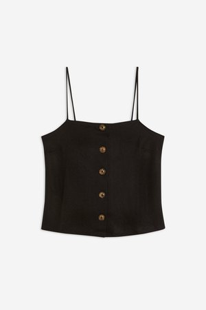 Button Bow Back Camisole Top - Camis & Tanks - Clothing - Topshop USA