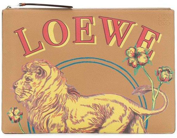 large Lion pouch