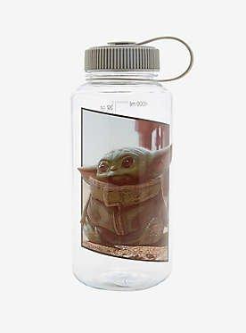 Baby Yoda Water Bottle