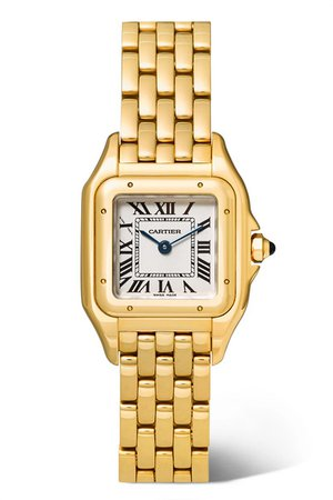 Cartier   Panthère de Cartier small 22mm 18-karat gold watch   NET-A-PORTER.COM
