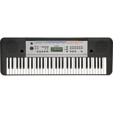 Yamaha YPT255 61-Key Portable Keyboard Black   Guitar Center