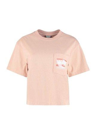 Kenzo Printed Cropped T-shirt