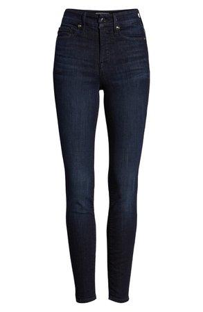Good American Good Legs High Waist Skinny Jeans (Blue 224) (Regular & Plus Size) | Nordstrom