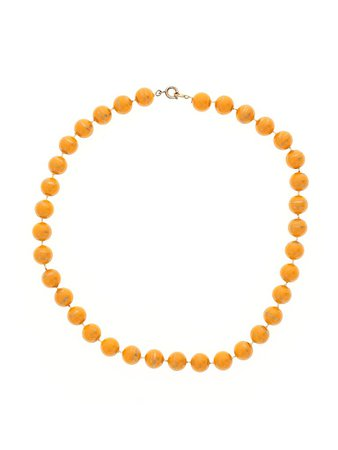 Unbranded Yellow Necklace One Size - 75% off | thredUP