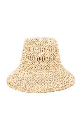 Vallauris Woven Paper Hat by Lola Hats | Moda Operandi