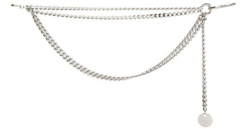 silver chain belt - Google Search