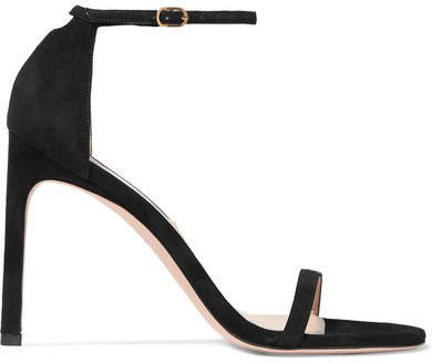Nudistsong Suede Sandals - Black