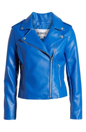 BB Dakota Just Ride Faux Leather Jacket | Nordstrom