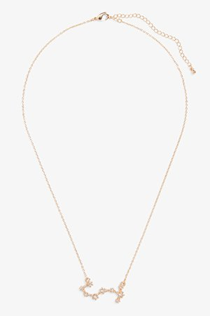 Constellation necklace - Gold-coloured - Necklaces - Monki WW