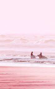 pink beach aesthetic - Google Search