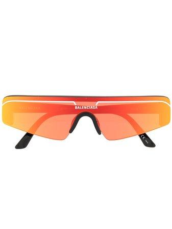 Balenciaga Eyewear Solglasögon Med Spegelglas - Farfetch