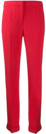 Cady viscose silk trousers