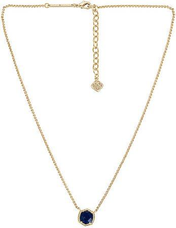 Davie Short Pendant Necklace