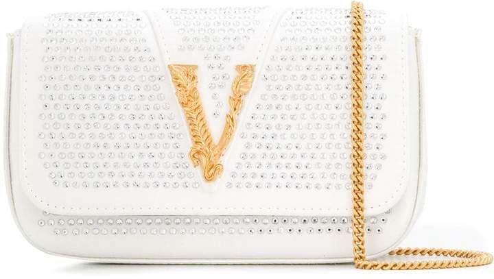 Virtus embellished shoulder bag