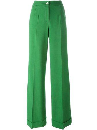 dolce & gabbana emerald green pants womens - Google Search