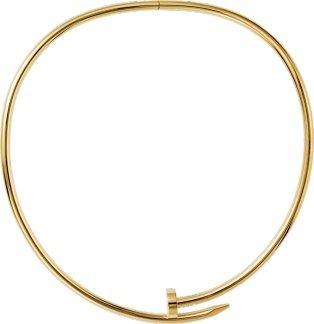 CRN7424165 - Juste un Clou necklace - Yellow gold - Cartier