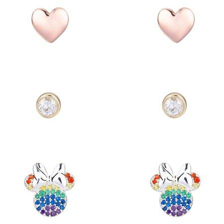 Minnie Mouse Stud Earring Set | shopDisney