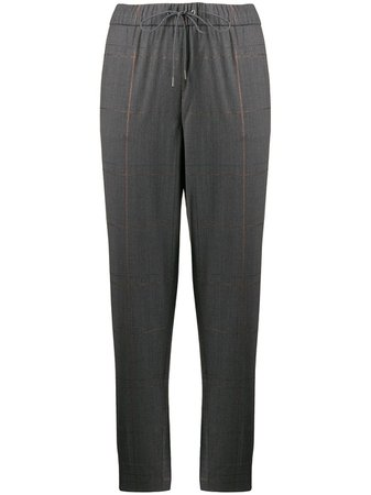 Fabiana Filippi High Rise Drawstring Tapered Trousers - Farfetch