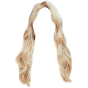 Blonde Hair PNG