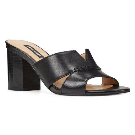 Nicolet Slide Sandals - Nine West