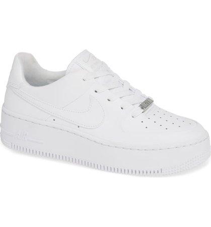 Nike Air Force 1 Sage Low Platform Sneaker (Women) | Nordstrom