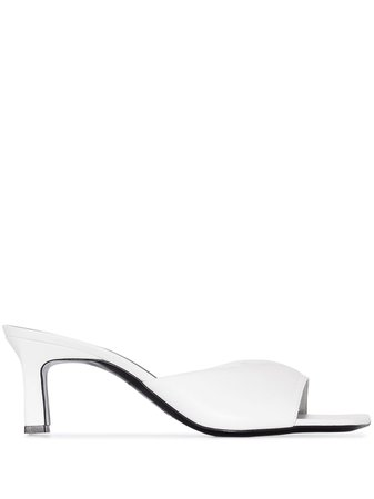 Simon Miller Hammer 70mm square-toe Heels - Farfetch