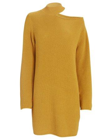 RtA Corin Cut-Out Sweater Dress | INTERMIX®