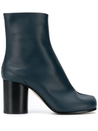 Blue Maison Margiela Tabi ankle boots - Farfetch