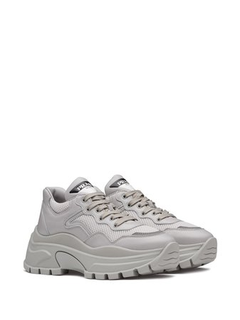 Prada Chunky Panelled Sneakers | Farfetch.com