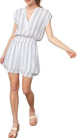 Angelina Smocked Waist Minidress