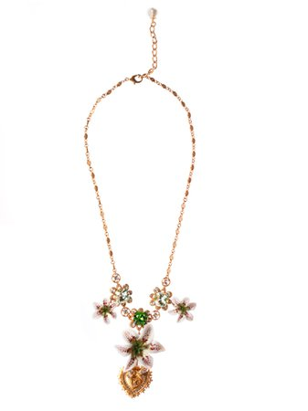 Dolce & Gabbana Floral Necklace