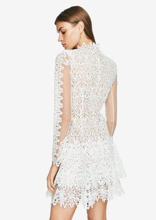 Guipure Lace Longsleeve Dress | Jonathan Simkhai