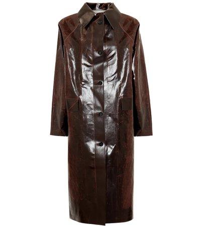Skai Cotton-Blend Coat | KASSL Editions - Mytheresa